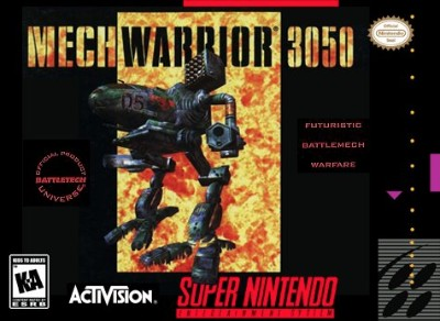 MechWarrior 3050 Cover Art