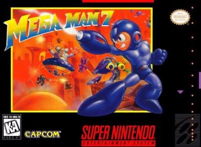 Mega Man 7 Cover Art