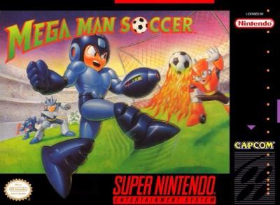 Mega Man Soccer Cover Art