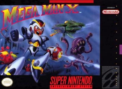 Mega Man X Cover Art