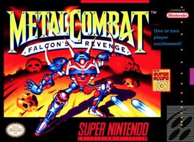 Metal Combat: Falcon's Revenge Cover Art
