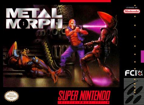 Metal Morph Cover Art
