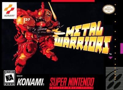 Metal Warriors Cover Art