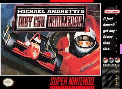 Michael Andretti's Indy Car Challenge Cover Art