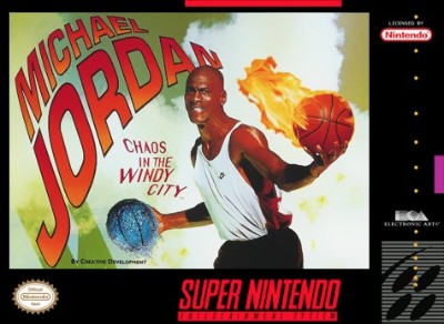 Michael Jordan: Chaos in the Windy City Cover Art