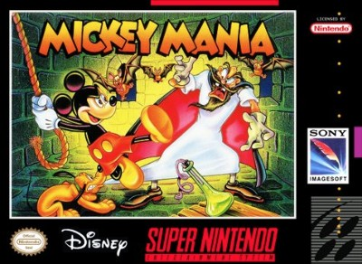 Mickey Mania: Timeless Adventures of Mickey Mouse Cover Art