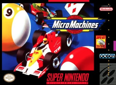 Micro Machines Cover Art