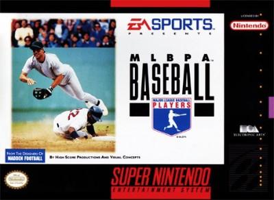 MLBPA Baseball Cover Art