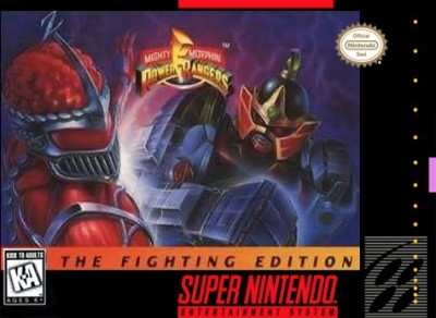Mighty Morphin' Power Rangers: Fighting Edition Cover Art