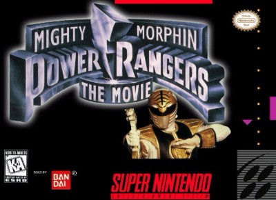 Mighty Morphin' Power Rangers: The Movie Cover Art