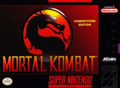 Mortal Kombat II [Not For Resale] Cover Art
