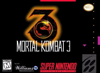 Mortal Kombat 3 Cover Art