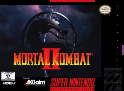 Mortal Kombat II Cover Art