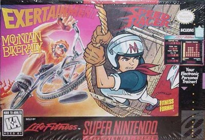 Exertainment Mountain Bike Rally/Speed Racer Cover Art