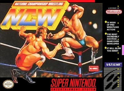 Natsume Championship Wrestling Cover Art