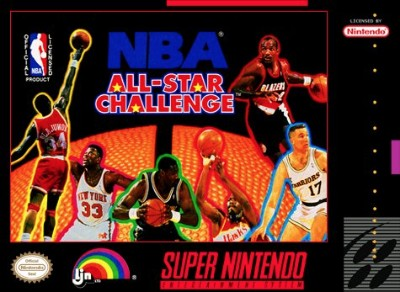 NBA All-Star Challenge Cover Art