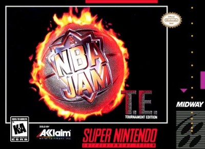 NBA Jam Tournament Edition Cover Art