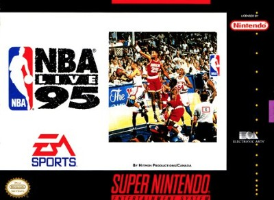 NBA Live '95 Cover Art