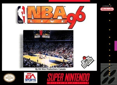 NBA Live '96 Cover Art