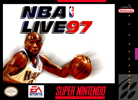 NBA Live '97 Cover Art