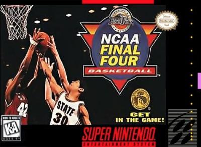 NCAA Final Four Basketball Cover Art