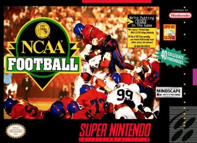 NCAA Football Cover Art