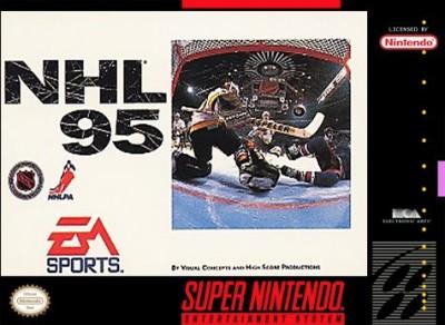 NHL '95 Cover Art
