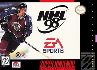 NHL '98 Cover Art