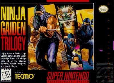 Ninja Gaiden Trilogy Cover Art