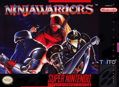 Ninja Warriors Cover Art