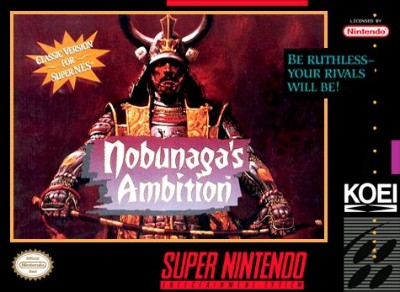 Nobunaga's Ambition Cover Art