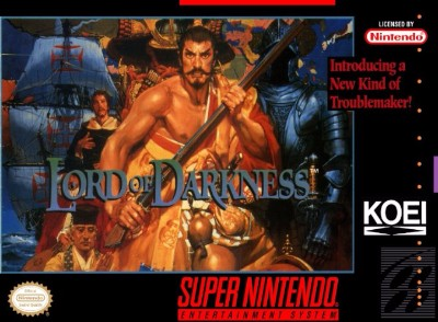 Nobunaga's Ambition: Lord of Darkness Cover Art