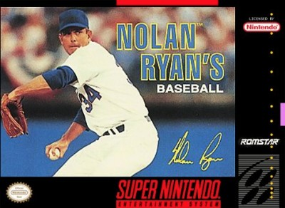 Nolan Ryan's Baseball Cover Art