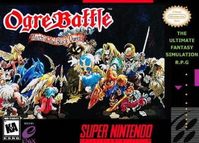 Ogre Battle: March of the Black Queen Cover Art
