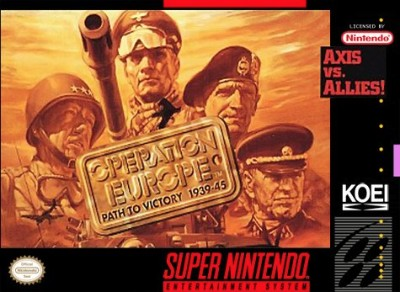 Operation Europe: Path to Victory 1939-45 Cover Art