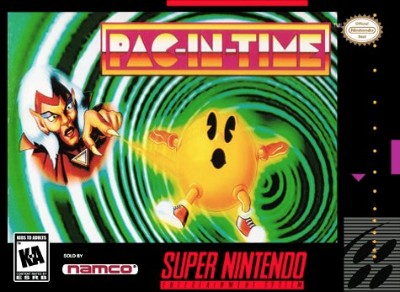 Pac-in-Time Cover Art
