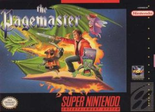 Pagemaster Cover Art