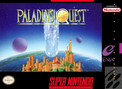 Paladin's Quest Cover Art