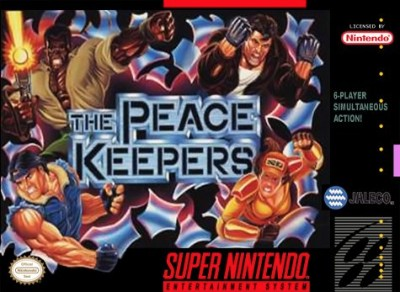 The Peace Keepers Cover Art