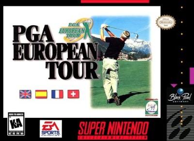 PGA European Tour Golf Cover Art