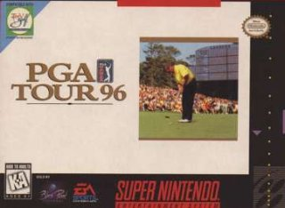 PGA Tour '96 Cover Art
