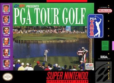 PGA Tour Golf Cover Art
