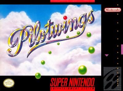 Pilotwings Cover Art