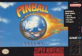 Pinball Dreams Cover Art