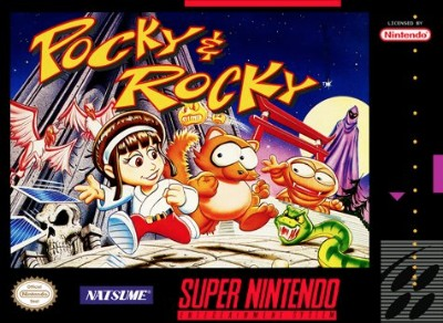 Pocky & Rocky Cover Art