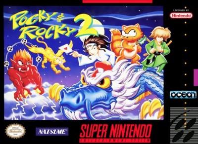 Pocky & Rocky 2 Cover Art