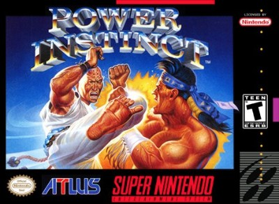 Power Instinct Cover Art