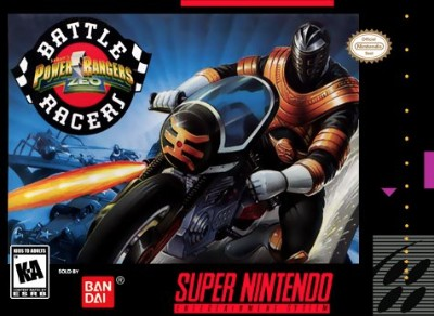 Power Rangers Zeo: Battle Racers Cover Art