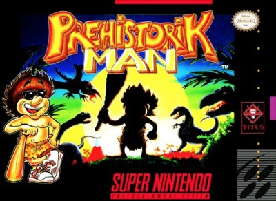Prehistorik Man Cover Art