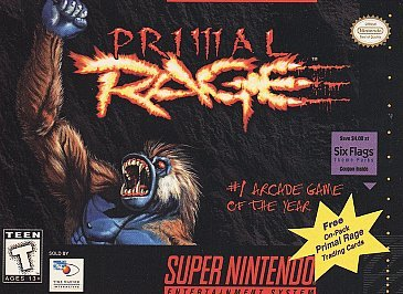 Primal Rage Cover Art